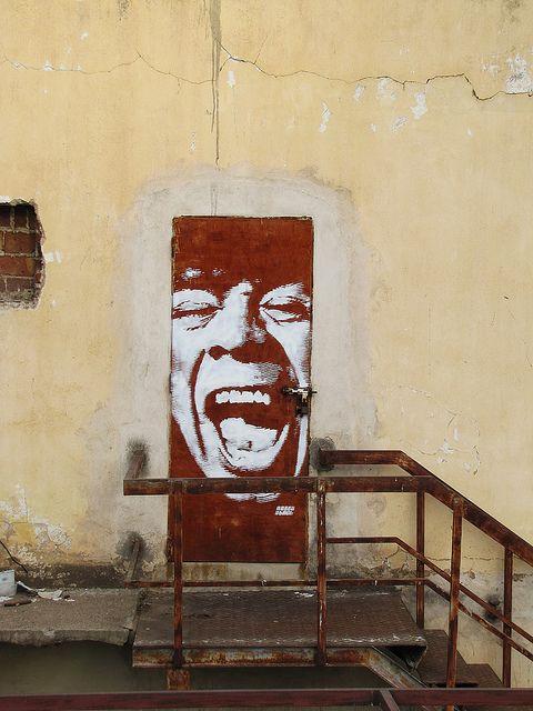 La Mona / Bien Ahi! / Cordoba | NAZZA stencil