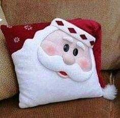 Almohada papá Noel