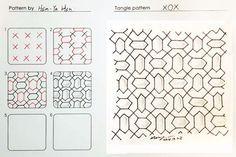 zentangle pattern by Hsin-Ya Hsu - Google Search