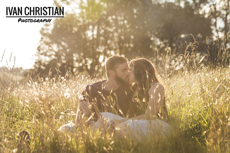Romance at sunset with Jess and Steven - Ivan Christian Photography