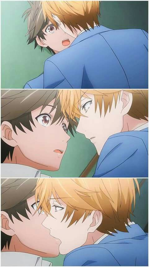Kiss!   Anime: Hitorijime My Hero  > Admin Souta •