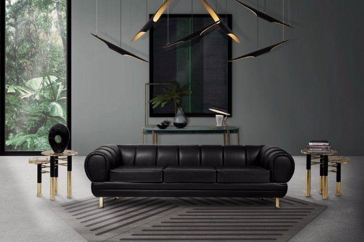 Lustres De Salon Pour Votre Maison Moderne De Style Milieu Du Siecle Lustre Salon Salon Mid Century Inspiration Salon