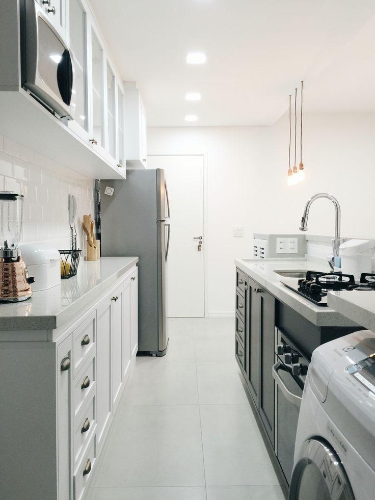Cozinha completa brancomadeira.com.br