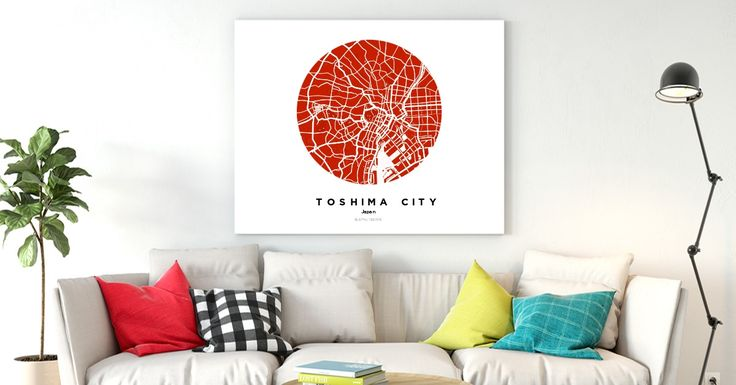 ToshimaCity | Custom Map Maker – Make Your Own Map Poster Online - YourOwnMaps