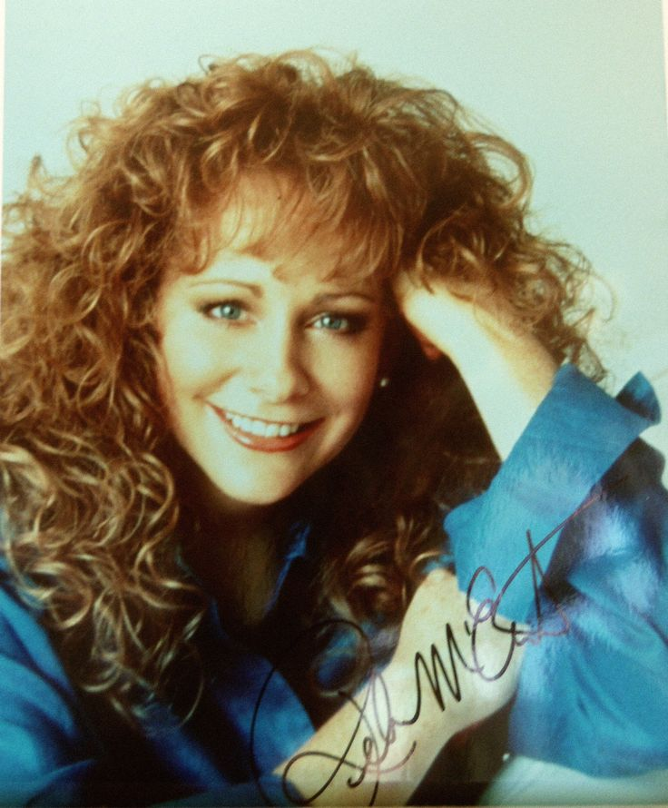 Reba McEntire Country Music Star 8x10 Autographed Photo with COA | eBay