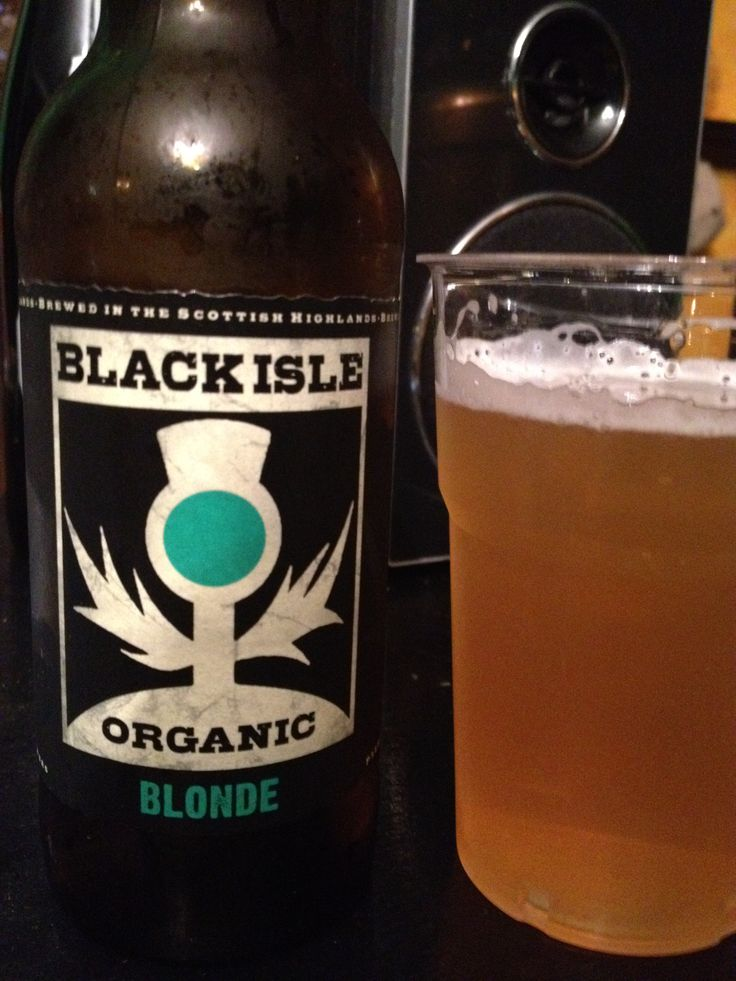 Black Isle Organic Blonde  Brewed by Black Isle Style: Premium Lager Munlochy, Rosshire, Scotland