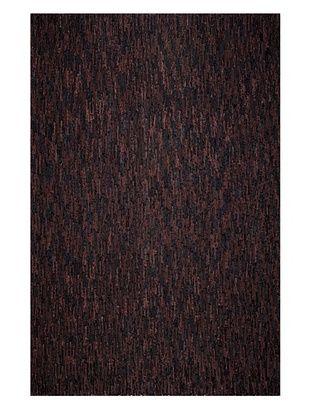 60% OFF Dreamweavers Velour Rug, Black/Brown, 6' x 9'