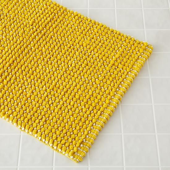 Image result for yellow bath mat