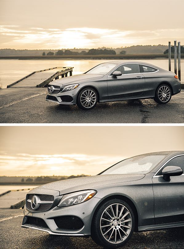 The Mercedes-Benz C-Class Coupé cuts a fine figure on the road. Photos by Steven Sampang (http://www.stevensampang.com) for #MBphotopass via /mercedesbenzusa/