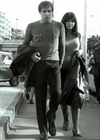 CELENTANO E CLAUDIA...negli anni 70....