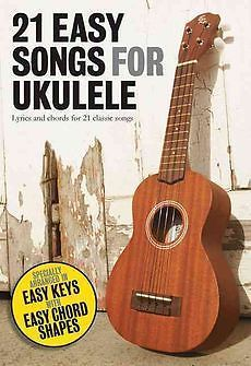 NEW 21 Easy Songs for Ukulele by Paperback Book Deb: (purchased Jan 2014) (Book #2)
