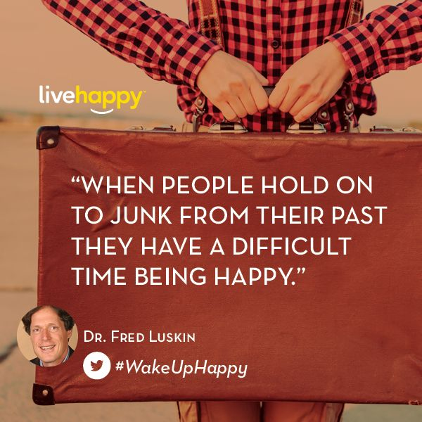 #WakeUpHappy Tips - Dr. Fred Luskin