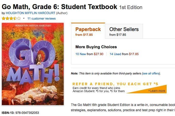 51 Go Math Worksheets Grade 6