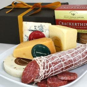 Executive Collection of Salami and Cheese in Gift Box (3 pound) by igourmet $79.99