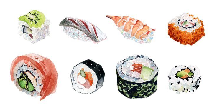 Food & Drink - marcel george illustration