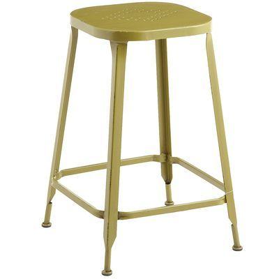 Weldon Backless Counterstool Avocado Pier1 3 For House