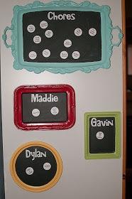 Little Gray Table: Chore Chart