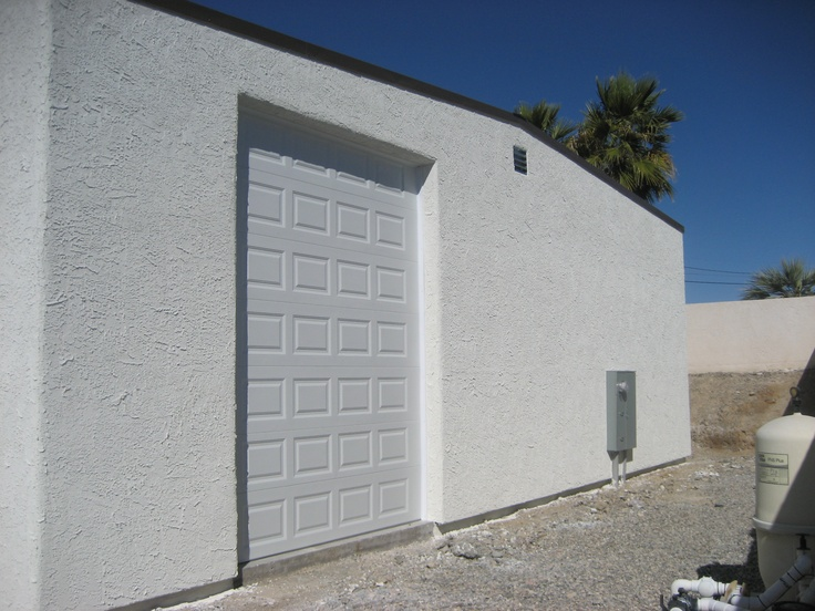 17 best images about steel building with stucco finsh on for Stucco garage