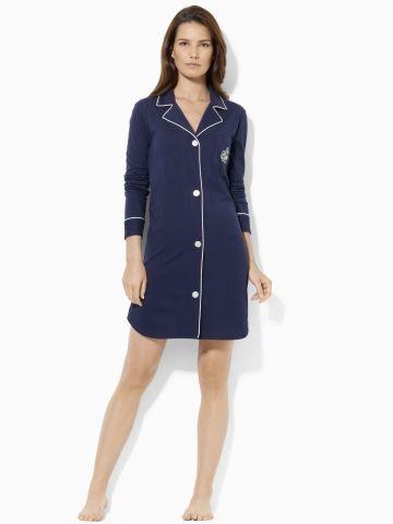 Cotton Jersey His Shirt - Sleepwear & Robes Women - RalphLauren.com
