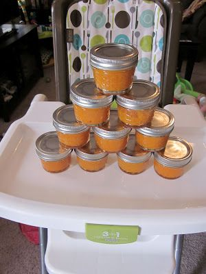 Homemade baby food. So easy, freezes great!
