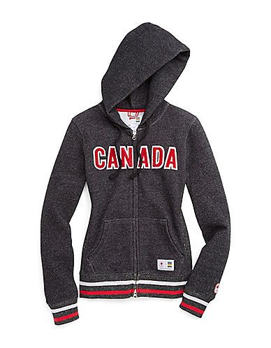 HBC Collections | Sochi 2014 Canadian Olympic Team Collection | Sochi 2014 Fleece Zip Hoodie | Hudson's Bay