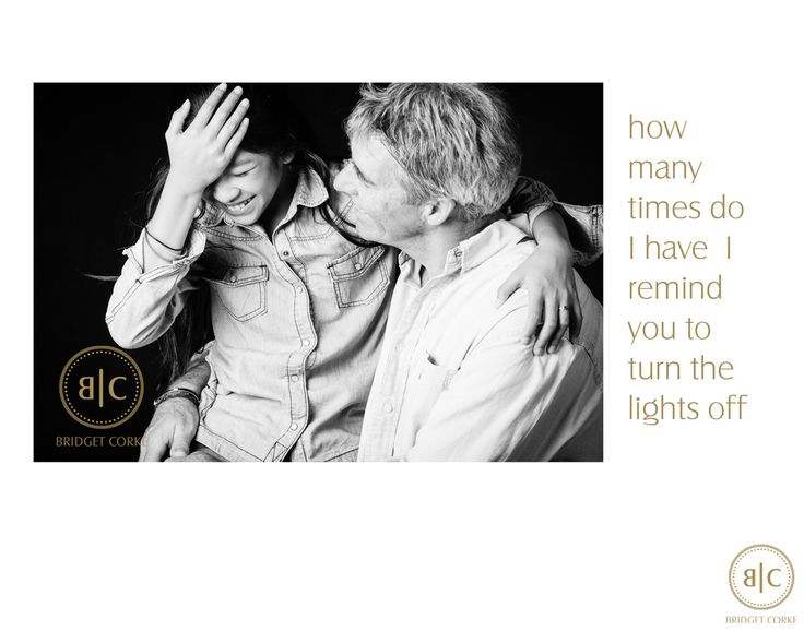 Bridget Corke Photography - Father's Day - Please Turn Off the Lights: