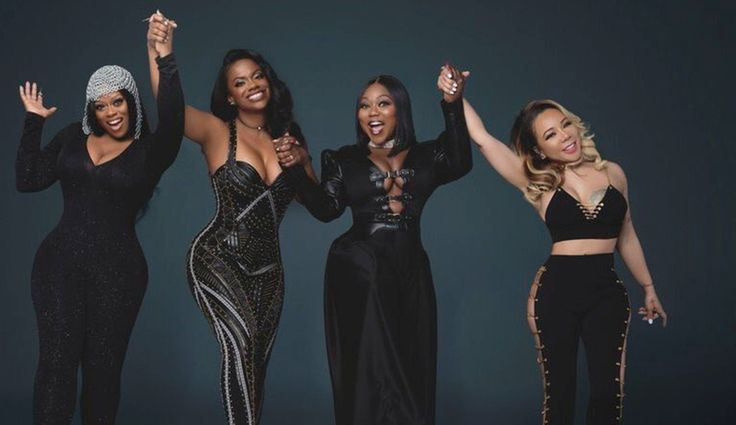 Kandi Burruss, Tameka 'Tiny' Cottle, And Xscape Reunite - Challenge Jermaine Dupri And TV One On Biopic #KandiBurruss, #TamekaCottle, #Tiny, #Xscape celebrityinsider.org #Entertainment #celebrityinsider #celebrities #celebrity #celebritynews