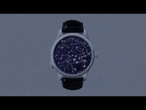 The Midnight Nuit Lumineuse watch arouses surprise and wonder, thanks to the use of the piezoelectricity phenomenon, generating electricity mechanically. Inspired by the glittering of the heavens, this is the first Poetic Complications™ watch that creates a luminous motif illuminating the dial.