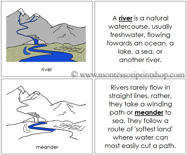 24 Best Geography Land And Water Forms Amp Features Images