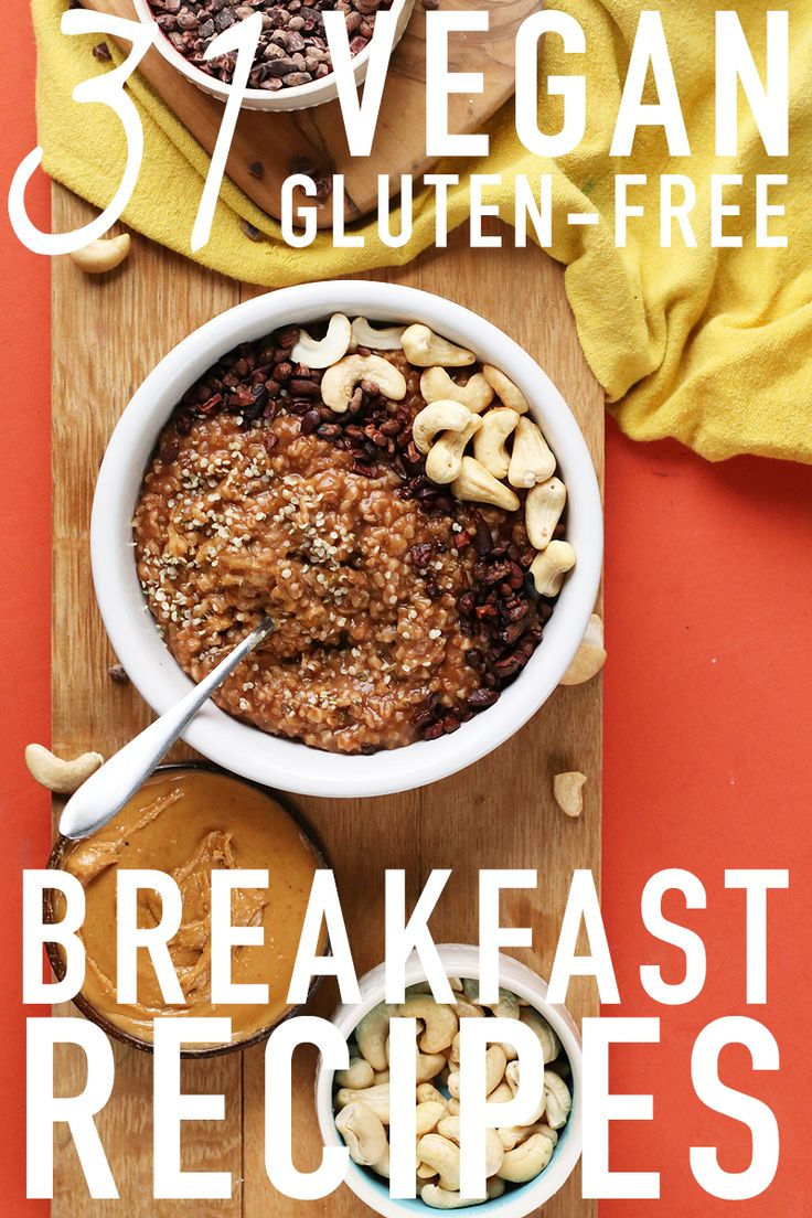 31 Gluten-Free Vegan Breakfast Recipes with something for everyone to love.