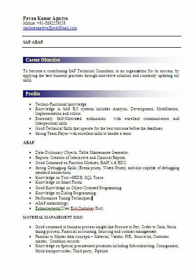 Best 25+ Sample resume ideas on Pinterest Sample resume cover - sap security resume