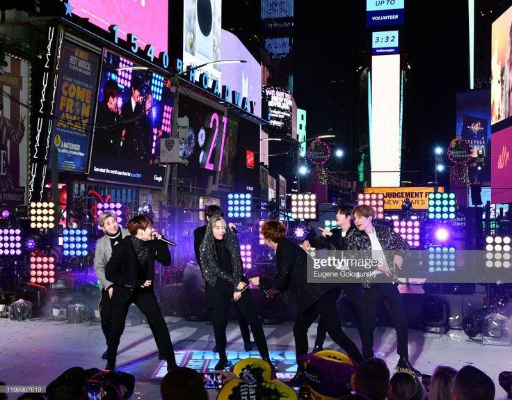200101 Times Square New Year's Eve 2020 Celebration 게티이미지