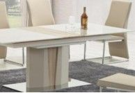 stół, stoły nowoczesne, stoły do salonu, stół champagne, dąb sonoma, eleganckie stoły, stół