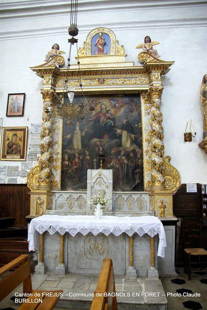 Retable Eglise de St-Antonin