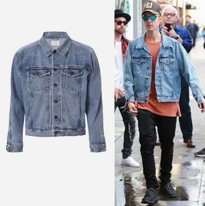 Fear of God Veste Kanye West Yeezy Men Clothes justin bieber FOG denim jacket #NWT #JeanJacket