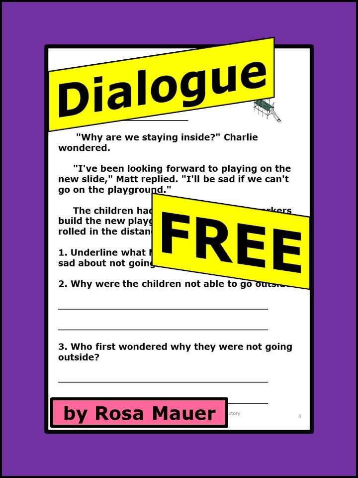 how to use quotation marks and commas in dialogue