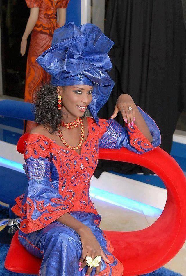 afrikanattire:  Sene-gambian fashion