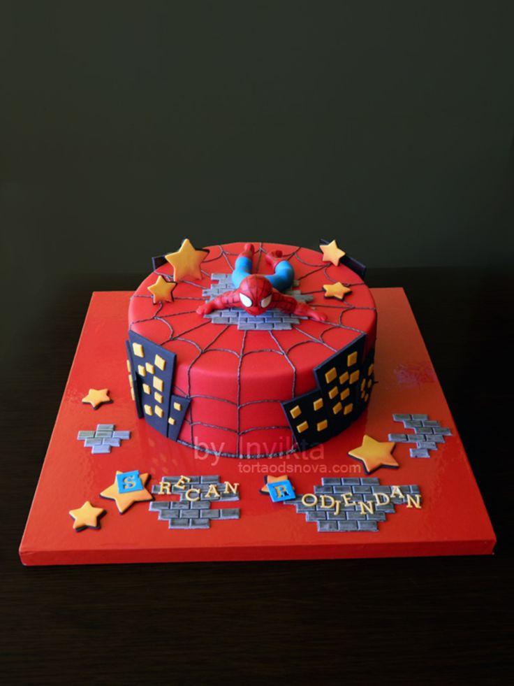 36 Best Spiderman Cakes Images On Pinterest Birthday