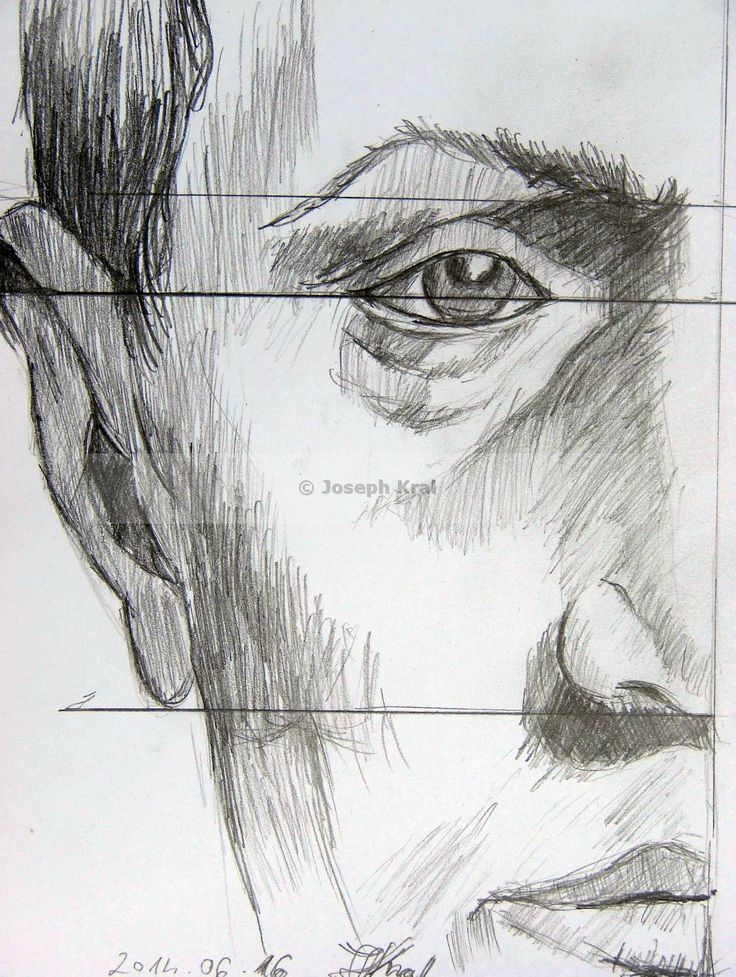 face proportions - - origin art by book of Andras Szunyoghy