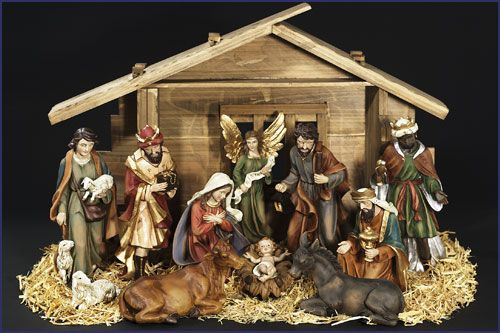 nativity scene #HarveysChristmas @harveyshq