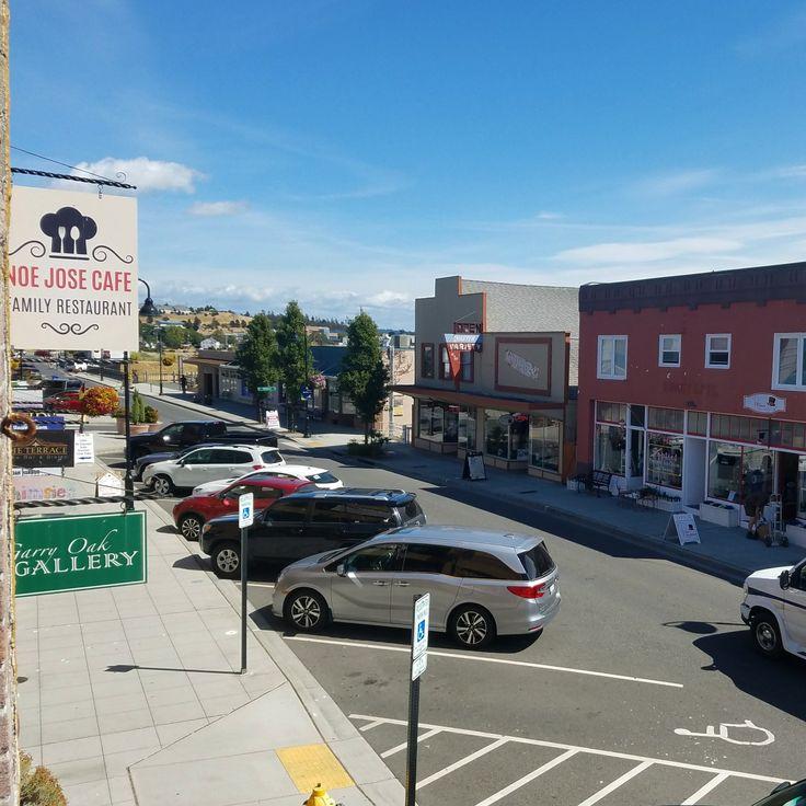 Downtown Oak Harbor,  WA