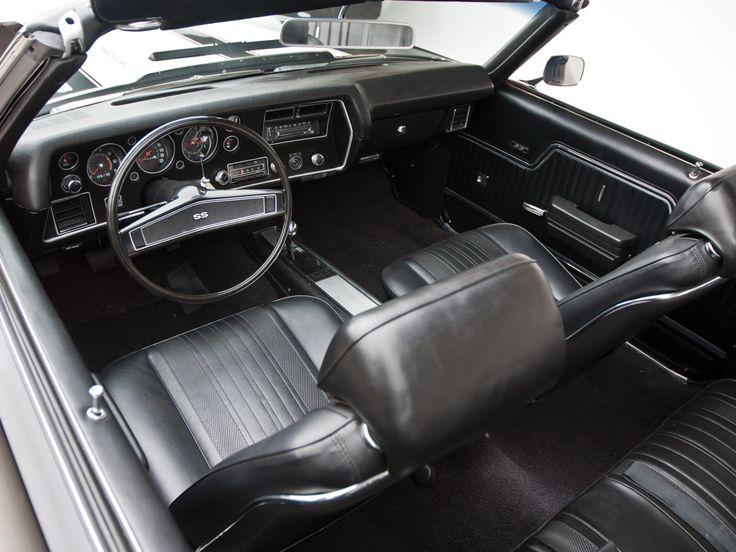 Stock Interior Chevrolet Chevelle Ss 396 Convertible 39 1970 Auto Addiction Interiors