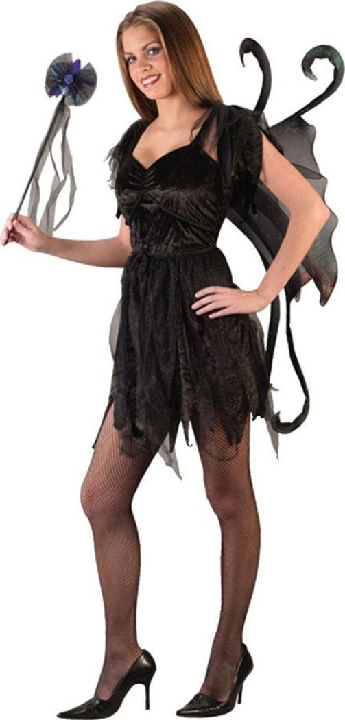Awesome Costumes Midnight Fairy Black Teen Costume just added...