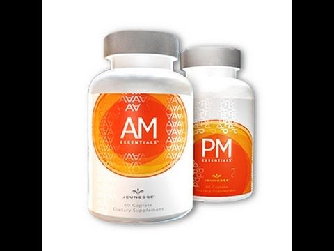 THE SCIENCE BEHIND JEUNESSE... AM & PM Esssentials by Jeunesse... quick…