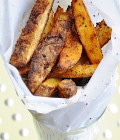 Honey, What's Cooking?: Baked Cajun Fries... Say NO to Grease!