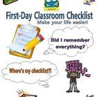 First-Day Classroom Checklist for Teachers!