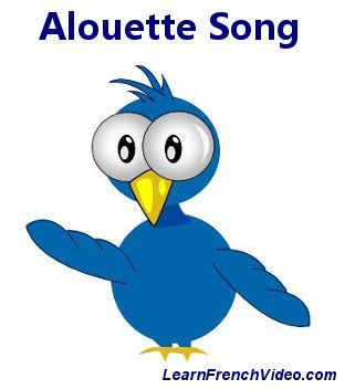 """""""Alouette"""" Chanson française traditionnelle."""