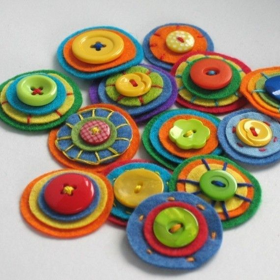 buttons and circles