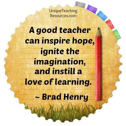 A good teacher can inspire hope - Brad Henry Quote