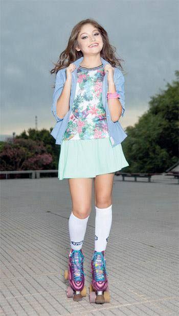 El nuevo look de Luna Valente para la segu da temporada!!! , ¿que les parece? , a mi me encanta ehh❤